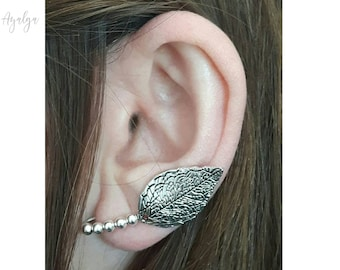 elvish ear cuff- statement jewelry- statement jewelry