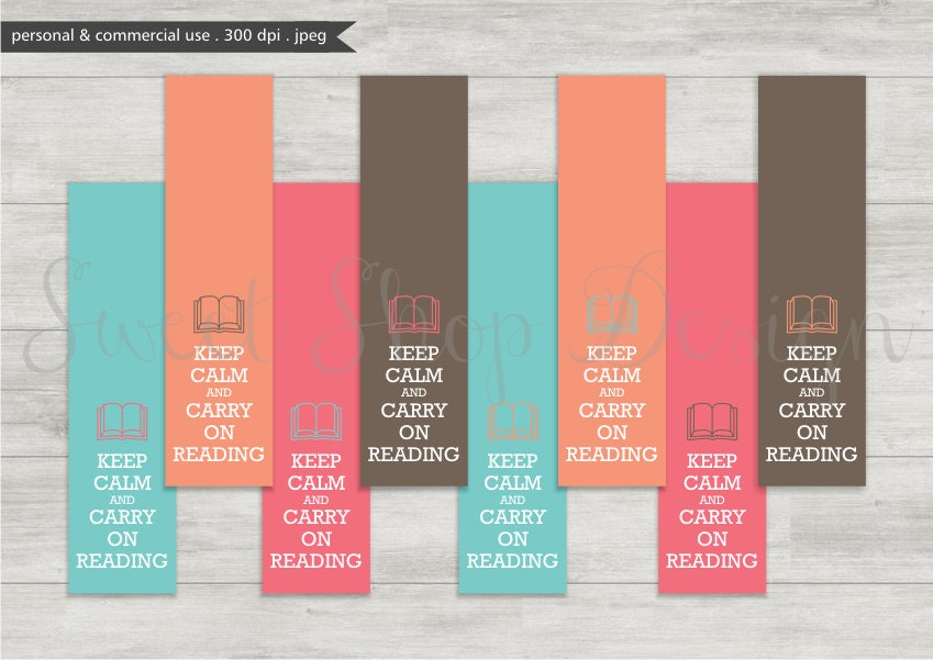 Lovely Digital Bookmark Printable Bookmarks Royalty Free Clipart OU87