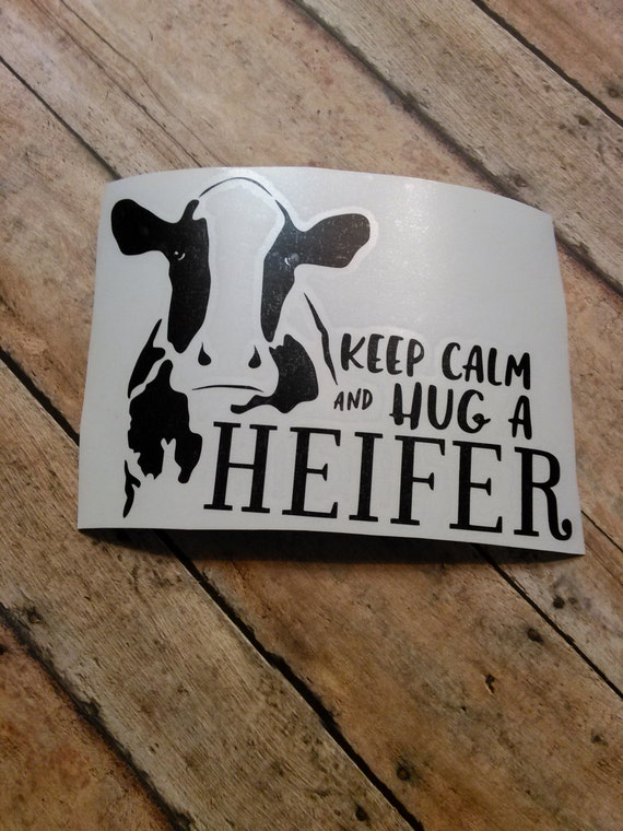 Cow Vinyl Decal Cow Decal Farm Decal Life Is Better With