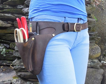 Floral Belt + scissor pocket