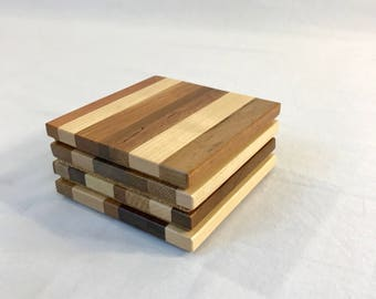 Wood Coasters (set of 4)