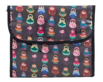 Babushka Cosmetic Flip Hanging Bag Bathroom Storage Accessory Case