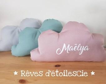 Customizable cloud pillow