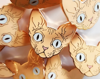 SECONDS SALE (B-Grade) Sphynx Pins!