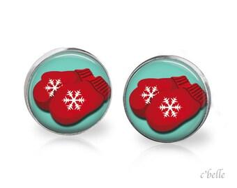 Christmas Earrings Winter-86