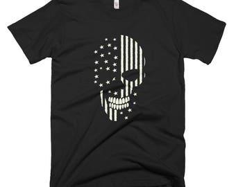 Skull Face Graphic T-shirt