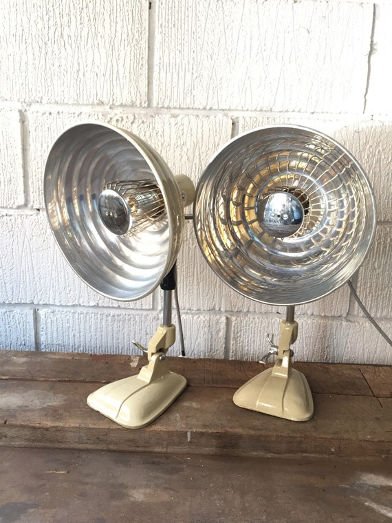 1950's PIFCO Medical Desk Lamps