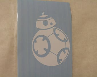 Star Wars BB-8 Droid Decal Any Size Any Colors