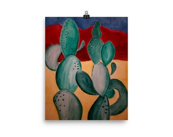 Cactus Love Print