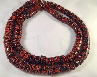 On Sale Vintage Antique Hand made African Glass Beads I African Trade Beads I Trade Beads I Venatian Antique Beads I original handmade beads