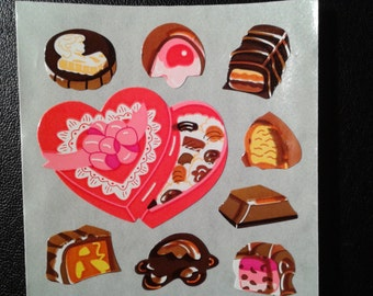Sandylion Stickers Valentine Chocolate, Chocolates  (1 mod)