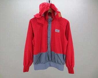 Nordica Windbreaker Vintage Nordica Hoodie Jacket Nylon Men's Size M