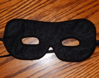 Inspired by Incredibles, Zorro or The Lone Ranger Felt Superhero Mask Costume - Any Size Available