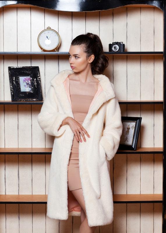 by pearl fur fur faux fur Luxury Exclusive Faux fur jacket Women Fake Jacket mink fur jackets Tissavel jacket France w7FzFqAa