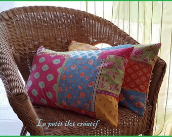 """Twin pillows """"summer colors"""""""