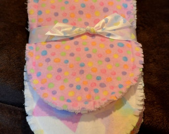 Handmade Baby Burp Cloths, Baby  Burp Cloth
