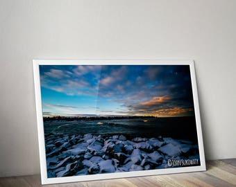 Beautiful Lake Michigan Canvas Download Print
