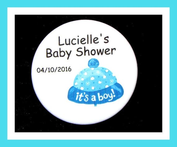 Baby Shower Boy Favors,Personalized Buttons Pins,Favor Tags,Its a Boy,Party Favors,Birthday Party Favors,Personalized Favors,Set of 10