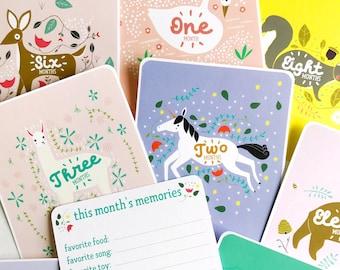 Enchanted Baby Milestone Cards