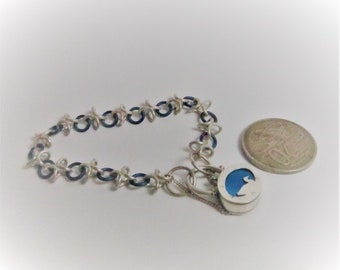 Duck pond padlock bracelet