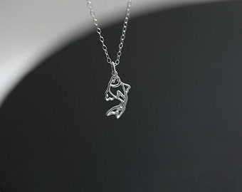 Koi Fish  necklace-Koi Necklace-Koi Jewelry-Fish Necklace-Sea Necklace-Ocean Necklace-Koi pendant-Japanese Koi fish-Goldfish necklace