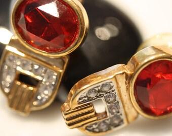 Vintage Art Deco Post Earrings