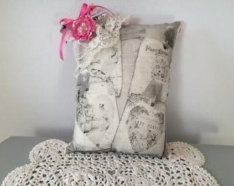 Valentine Collage Pillow