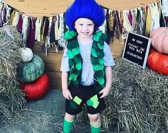 Branch costume, trolls branch, boys troll costume, branch troll, troll branch,troll birthday, branch birthday, poppy birthday