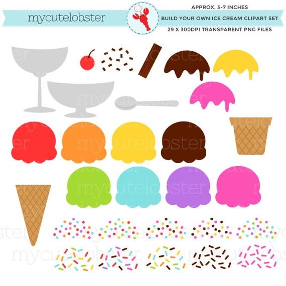 ice cream clipart set build your own ice cream clipart set ice rh etsystudio com make your own clipart for free make your own clip art online