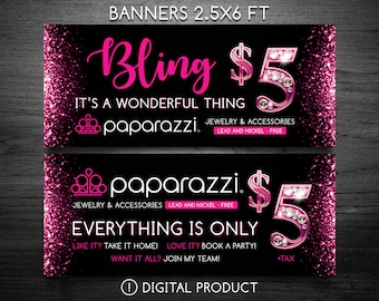 paparazzi jewelry banners paparazzi banner etsy 5352