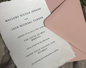 WEDDING INVITATIONS|Set #011
