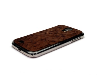 For Samsung Galaxy S4 Case Wood Redwood Burl, S4 Case, Wood  Galaxy, S4 Wood Case, S4 Cover Wood Galaxy S4 Case
