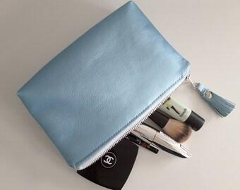 Vegan Leather Make-up Bag