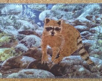 Postcard - Racoon
