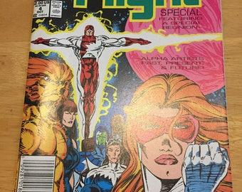Vintage Marvel Comic Alpha Flight Limited Series #4 (1991) Rare Vintage Comic Book