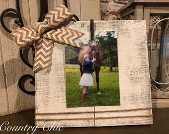 Handmade Distressed Picture holder