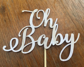 Oh Baby , Cake topper