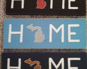 Detroit Sports teams signs