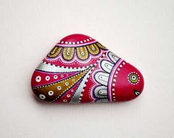 I Sassi dell'Adriatico - Hand Painted Stone (Adriatic Sea) Fish