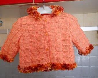 baby hooded vest