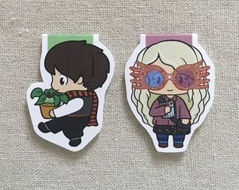 Magnetic Bookmarks - Wizard Buddies