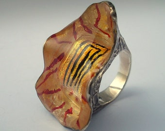 Astalan Ring. Silver Art.