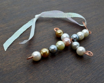 Beaded Pearl Cross - Decorative Crosses - Confirmation Gift - Baptist Gift - Unique Cross GIft - Gifts for Grads - Teacher appreciation