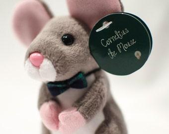 Mouse Stuffed Animal - Cornelius the Courage Mouse - Cute Stuffed Animal - Plush Mouse