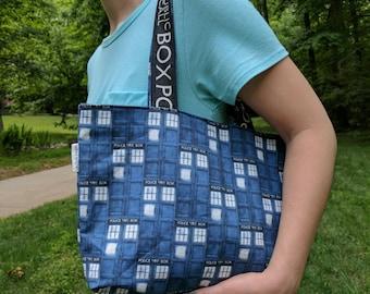 TARDIS Small Tote Bag