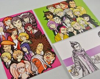 Dangan Ronpa/Super Dangan Ronpa 2 Mini Prints