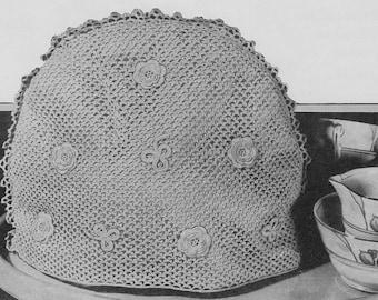 Vintage 1938 Irish Crochet Pattern - Tea Cosy - digital download