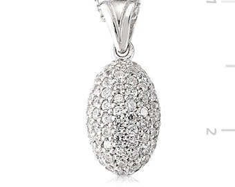 Swarovski Silver Necklace - IJ1-2096