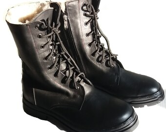 Army Sheepskin Boots