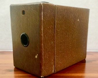 Vintage Kodak Rainbow Hawkeye Box Camera for Display 1929-1933